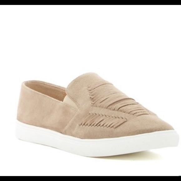 Carlos Santana Shoes - Carlos Santana Heidi Tan Suede slip on sneaker 9.5